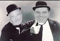 Dick und Doof sanieren das Rathaus